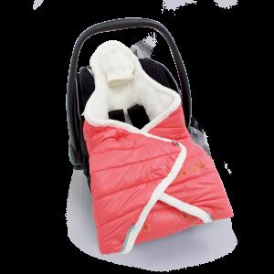 Couverture enveloppante unoiverselle et multi-usage Biside Yetti de Baby Boum dans la cat. Textile
